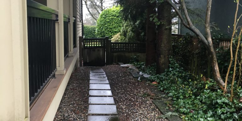3 - side walk way