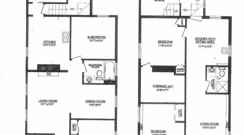 Floor Plan - 228 E 20th St, NV