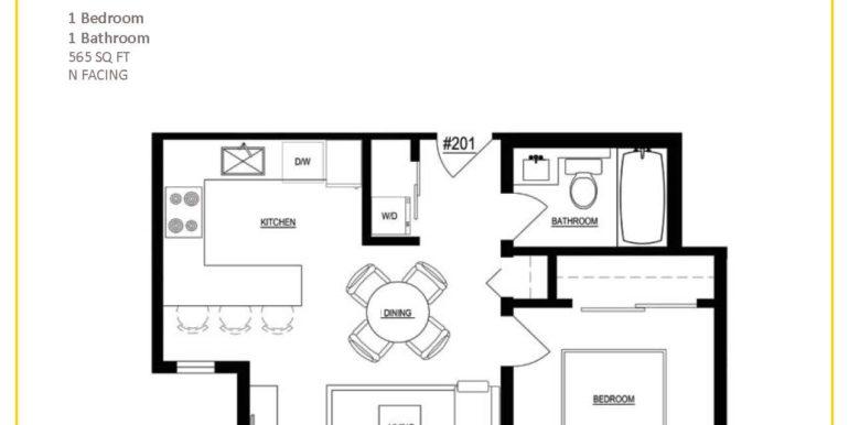 Ocho - 1 Bedroom Plans