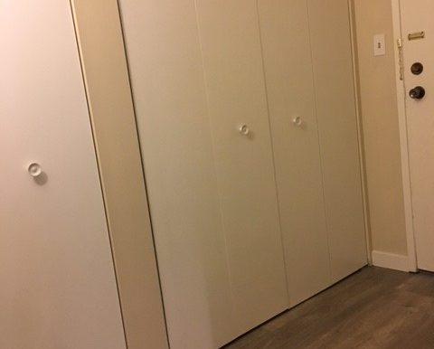 Entrance Closets