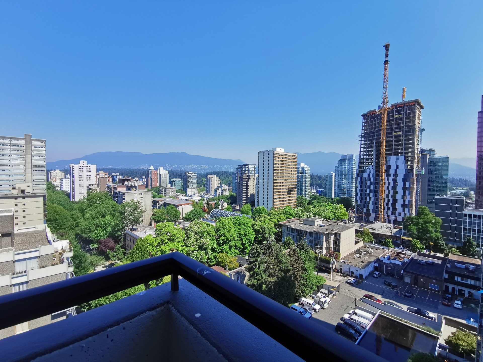 New Flooring and Paint! Huge West End Highrise Condo!