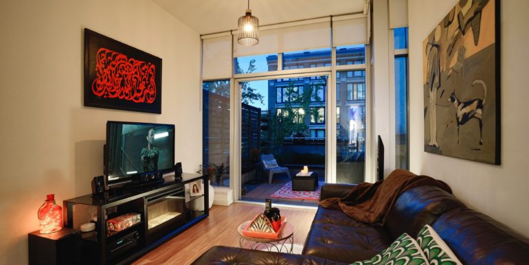 Terminus Gastown downtown Vancouver Luxury Rental Furnished Accommodations Condo Loft 99