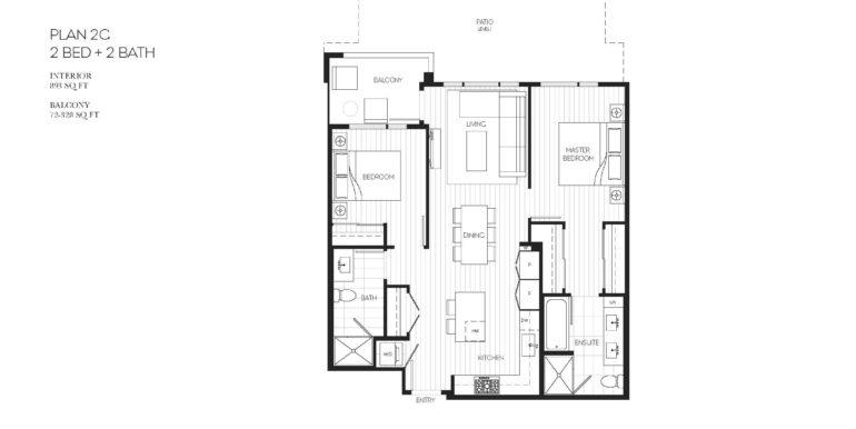 102 Floor Plan 2G