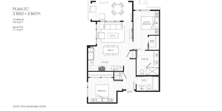 104 Floor Plan 2C