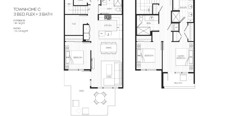 112 Floor Plan TH-C