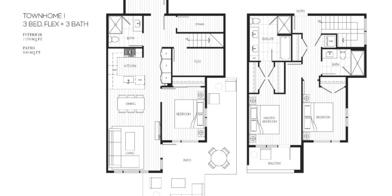 114 Floor Plan TH-1
