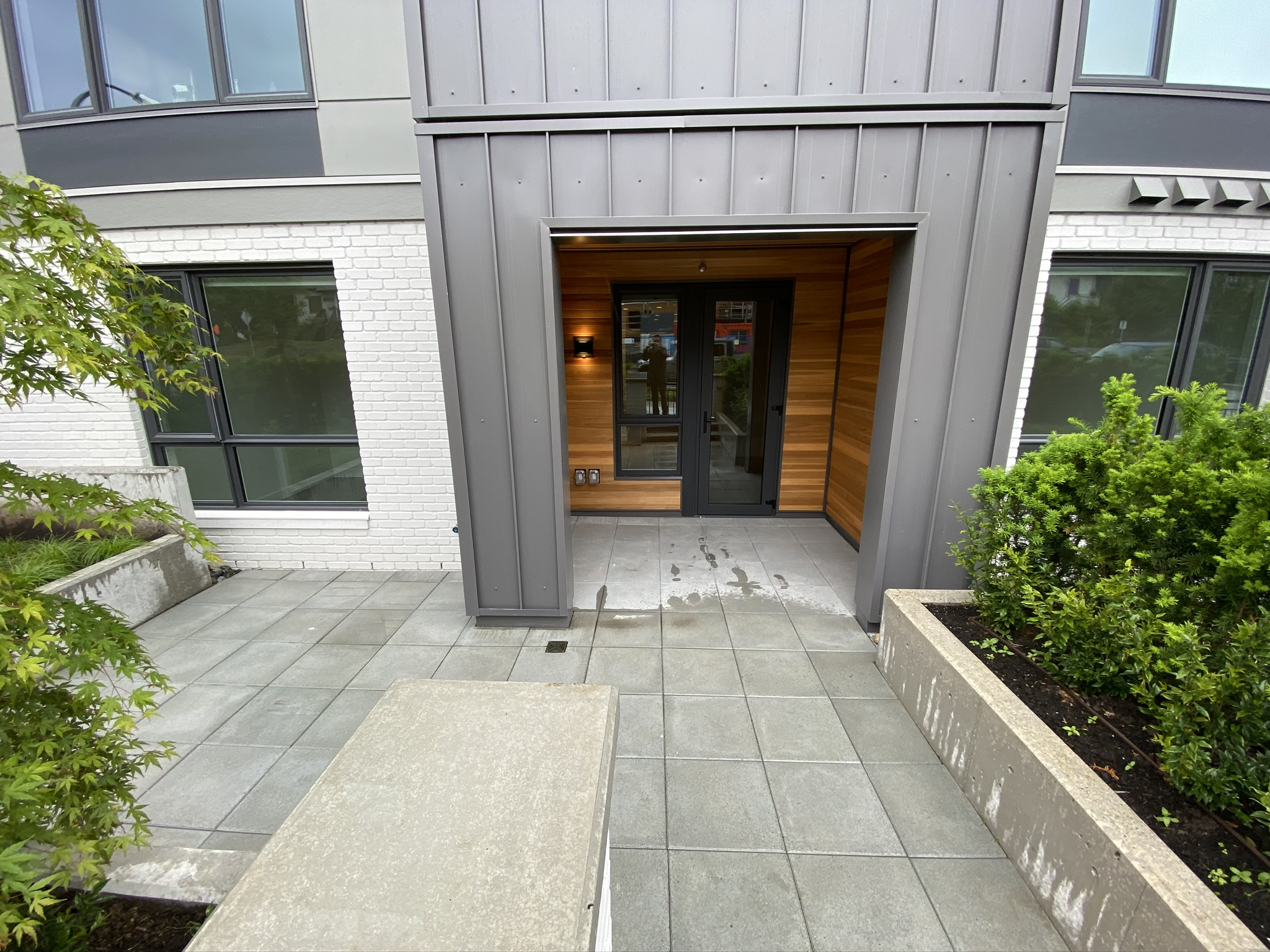 Brand New @ GREEN! Townhouse Style 1 Bed w. BIG Patio!